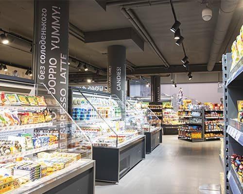 Особенности охраны супермаркетов